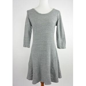 James Perse Fit Flare Stretch Dress 3 L #208